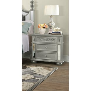Aaden 3 Drawer Nightstand