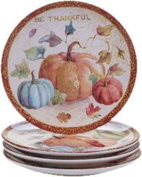 Thanksgiving Plates & Thanksgiving Dinnerware \u0026 Table Décor You\u0027ll Love | Wayfair