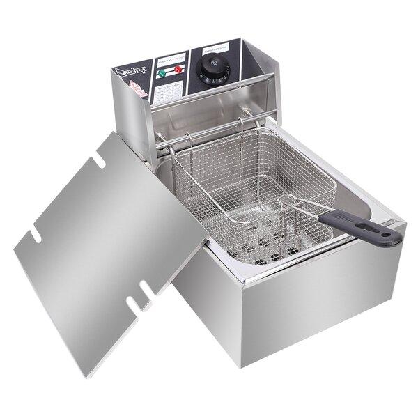 Electric Deep Fryer Home Restaurant Kitchen Multi Cooker Countertop Tabletop New