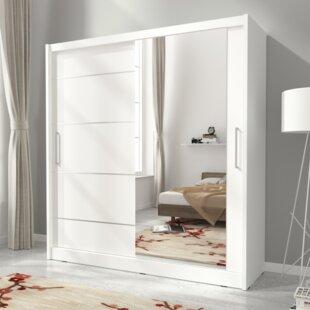Maggio I Alu 2 Door Sliding Wardrobe By Selsey Living