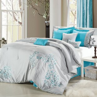 12 Piece Comforter Set by Red Barrel Studio Cheap