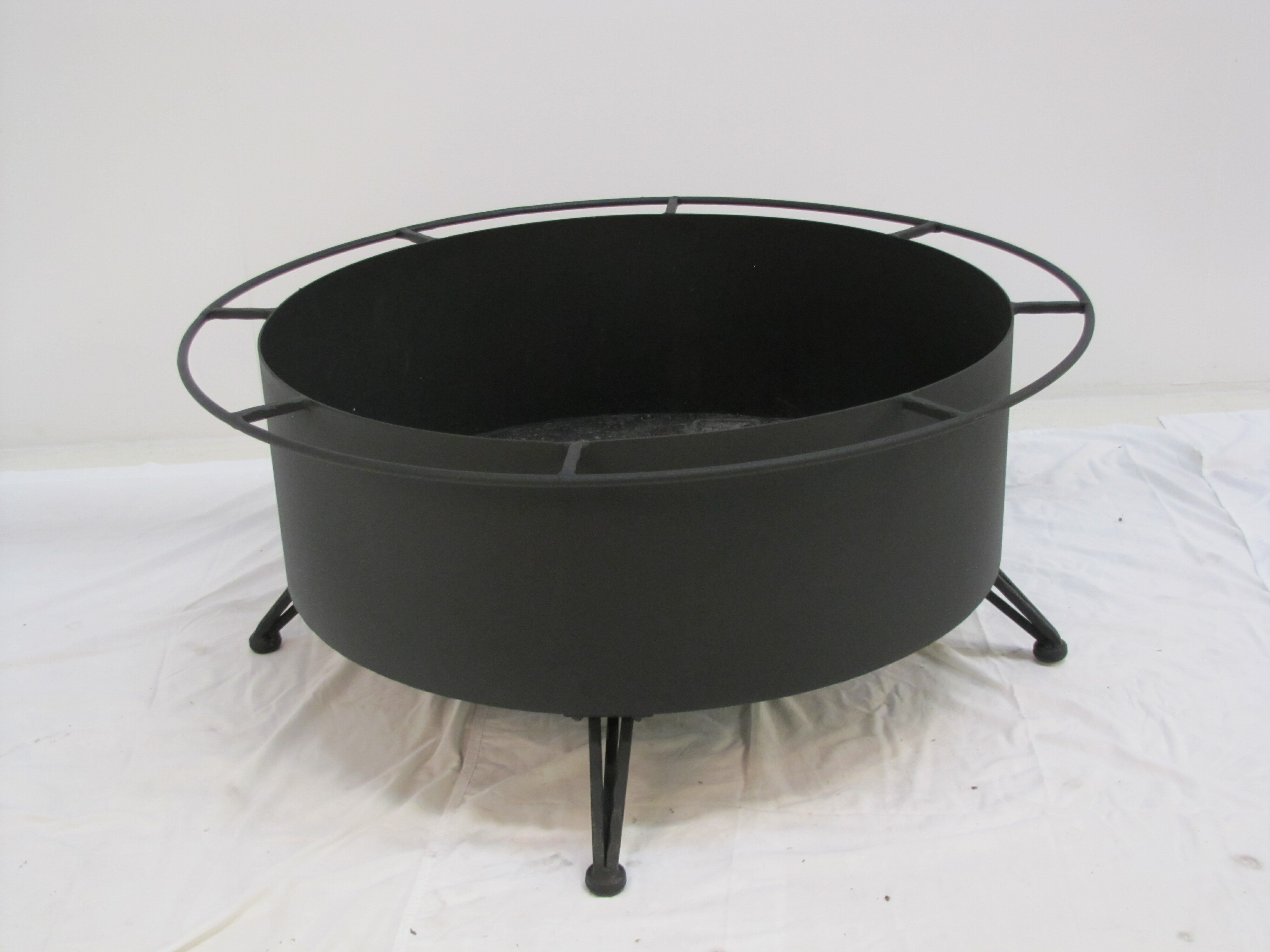 Cove Cast Iron Charcoal Fire Pit