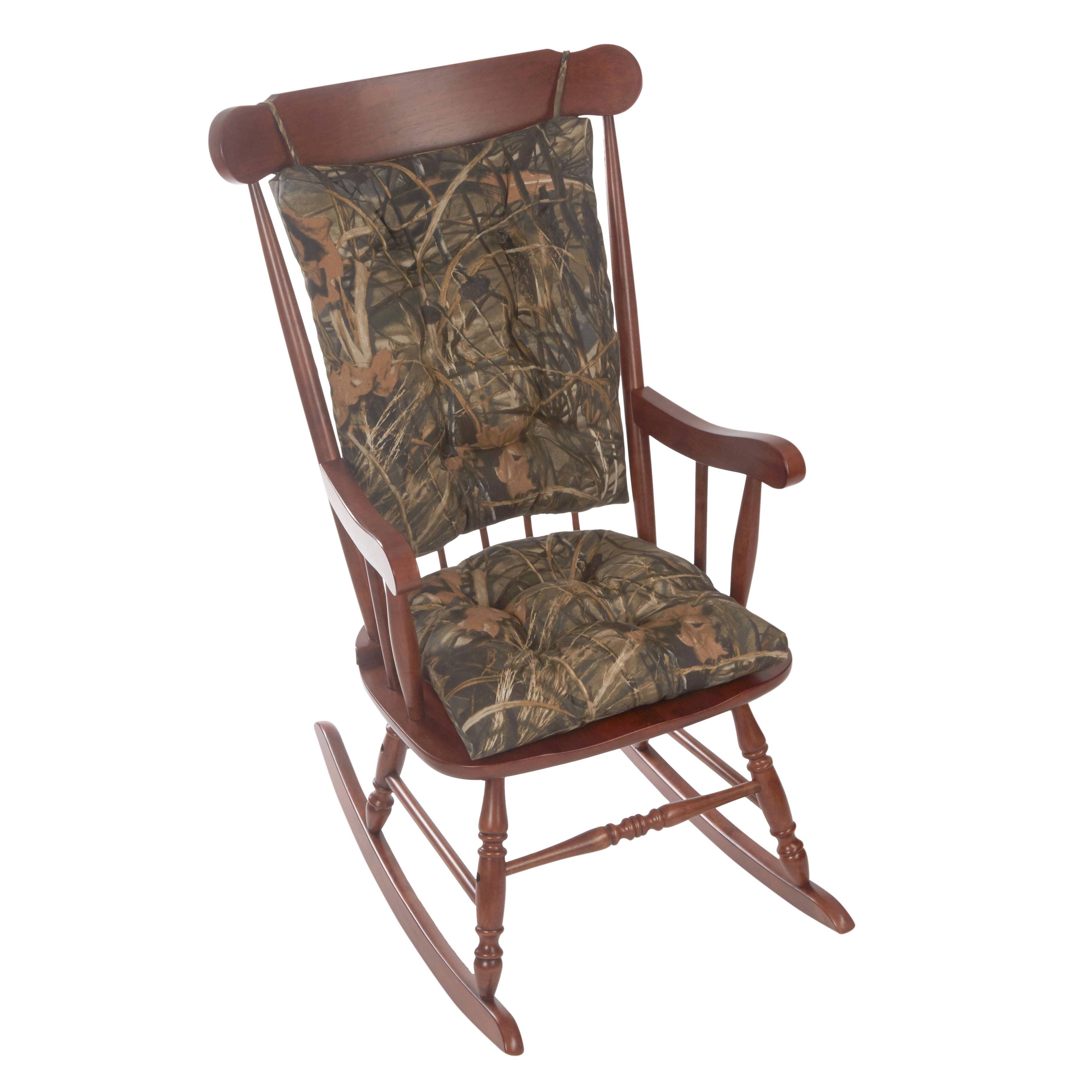 Phenomenal Gripper Realtree Jumbo Indoor Outdoor Rocking Chair Cushion Best Image Libraries Counlowcountryjoecom