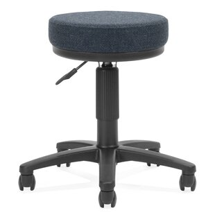 Height Adjustable Drafting Stool with Casters
