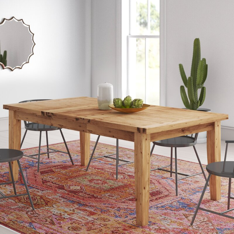 Mistana Osiris Extendable Dining Table Reviews Wayfair