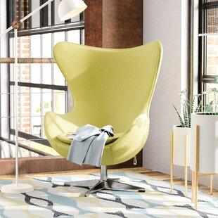 Fernanda Swivel Wingback Chair by Corrigan Studio