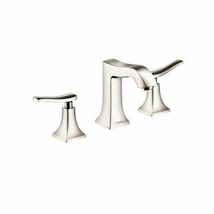 Low priced Metris C Two Handles Widespread Standard Bathroom Faucet ByHansgrohe