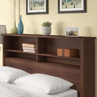 Three Posts Rossford Bookcase Headboard