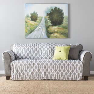 Trend Caledonia Box Cushion Sofa Slipcover by Alcott Hill Reviews (2019) & Buyer's Guide