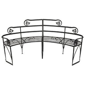 Lutyen II Wrought Iron Garden Bench