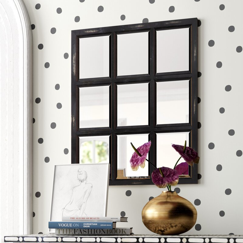 French Country Wall Art - Leavens Country Beveled Accent Mirror
