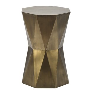 Rylan Geometric End Table