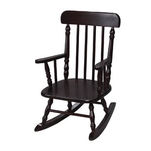 Barksdale Spindle Kids Rocking Chair by Harriet Bee