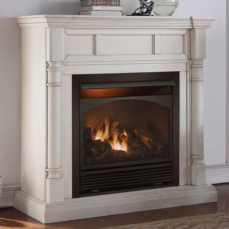 duluth forge vent free natural gas propane fireplace wayfair rh wayfair com how do ventless natural gas fireplaces work ventless natural gas fireplace wall mount