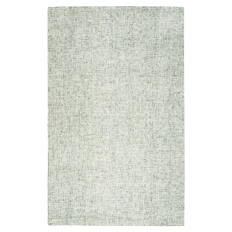 Hale Hand Tufted Wool Green Area Rug Reviews Allmodern