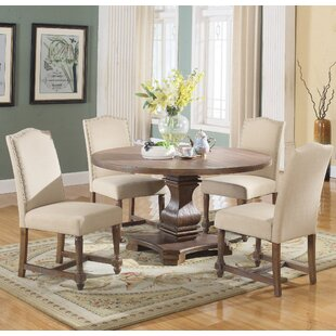 Arielle 5 Piece Round Dining Set Alcott Hill