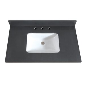 Bargain Quartz 37 Single Bathroom Vanity Top ByAvanity