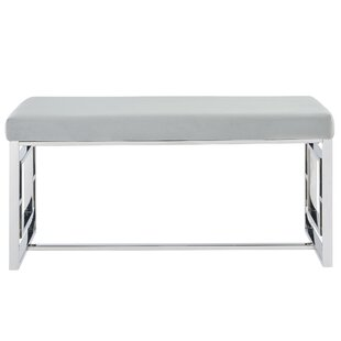 Melendez Stainless Steel Bench