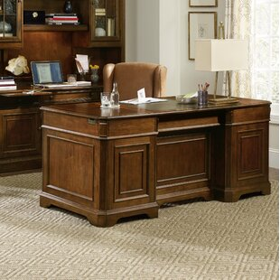 Brookhaven Solid Wood Executive Desk by Hooker Furniture
