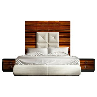 Huggins Panel 3 Piece Bedroom Set