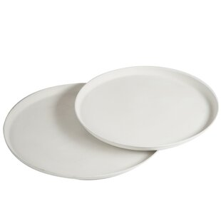 Fine Lines 2 Piece Serving Tray Set By Symple Stuff
