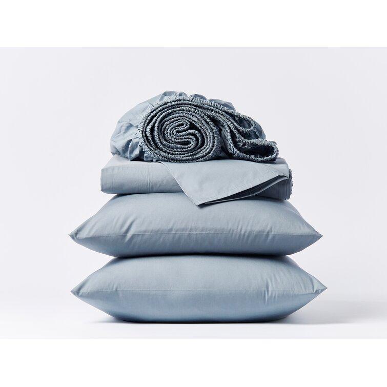 300 Thread Count 100% Cotton Percale Sheet Set