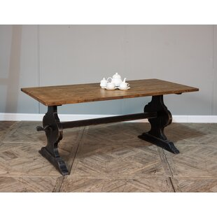 Vintage Truck Bed Solid Wood Dining Table by Sarreid Ltd Cheap