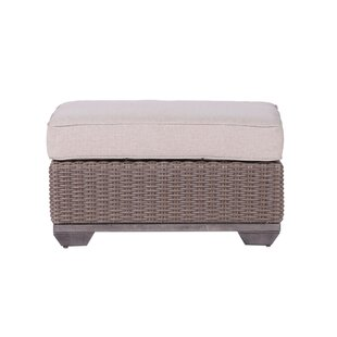 Bayou Breeze Kovacs Ottoman with Cushion