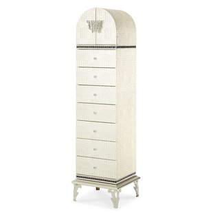 Hollywood Swank 7 Drawer Lingerie Chest
