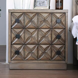 Northmoore 2 Drawer Nightstand by Bungalow Rose