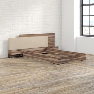 Mercury Row Nohlan Italian Upholstered Platform Bed