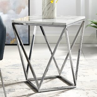 Chandra End Table by Everly Quinn