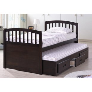 Twin Captain Bed with Trundle Bed