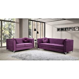 Best Price Doucette Living Room Set by Mercer41 Reviews (2019) & Buyer's Guide