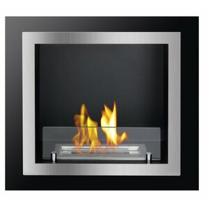 Antalia Recessed Ventless Wall Mount Ethanol Fireplace by Ignis Products