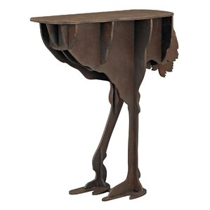 grafton ostrich legs accent table
