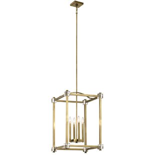 Cargin 4-Light Square/Rectangle Pendant by Mercer41