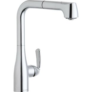 Elkay Gourmet Pull Out Single Handle Kitchen Faucet