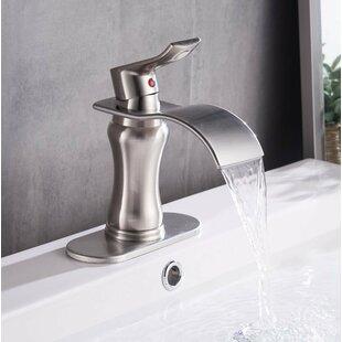 DFI Waterfall Lavatory Sink Single Hole Bathroom Faucet By Aquafaucet
