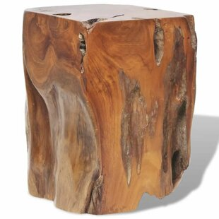 Shemar Solid Teak Stool By Union Rustic