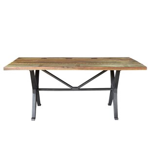 Pascoe Old Top Cross Dining Table Gracie Oaks
