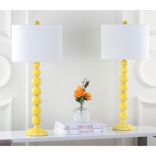 Yellow Table Lamps Youu0027ll Love | Wayfair