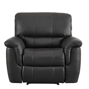 Darby Home Co Averill Leather Manual Recliner