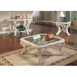 Astoria Grand Alaskan 3 Piece Coffee Table Set