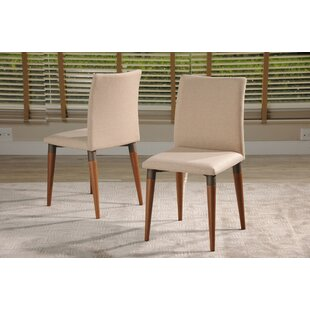 Tasker Upholstered Dining Chair Union Rustic