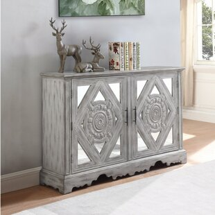 Etonnant Wilkins Distressed Wooden Accent Cabinet