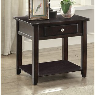 Dre End Table with Storage