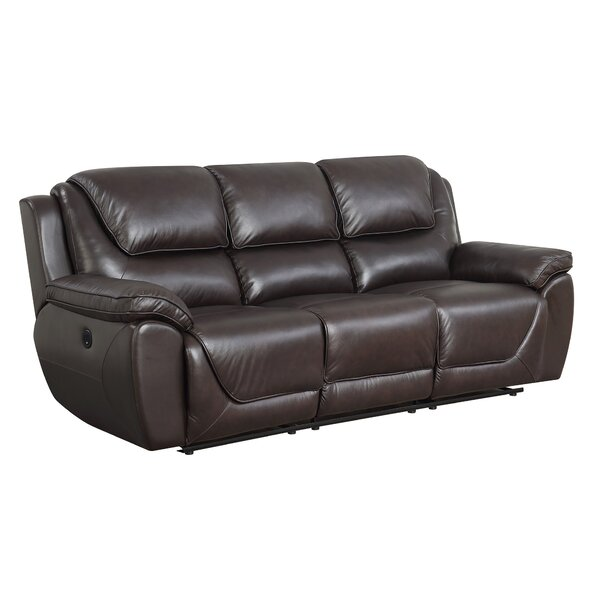 Fantastic Real Leather Recliner Sofa Wayfair Bralicious Painted Fabric Chair Ideas Braliciousco