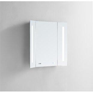 Top Reviews Hartshorn Breeze LED Lighted Bathroom Mirror BySymple Stuff