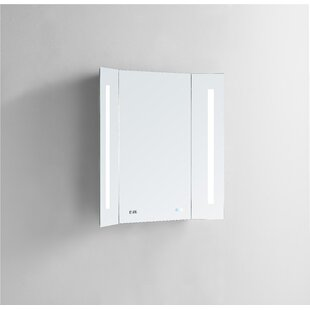 Top Hartt Breeze LED Lighted Bathroom Mirror By Symple Stuff